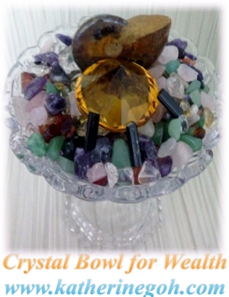 Wealth Crystal Bowl
