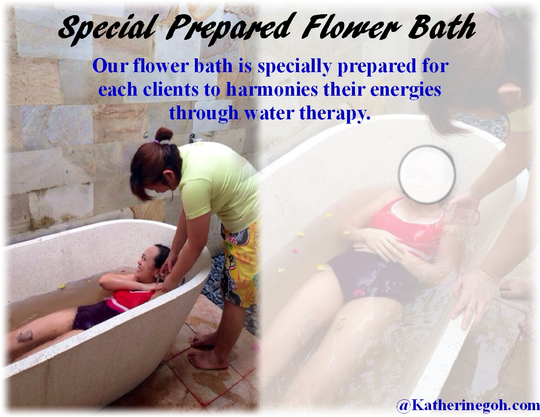 Special Prepared Flower Bath